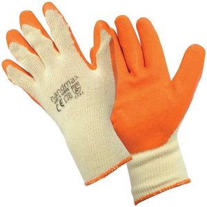 Guardsman GRAB'N'GRIP Orange Palm Coated Latex  Gloves Size Extra Large GGOE/XL