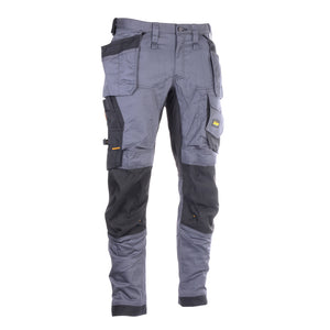 "Snickers 6251-108 Steel Grey Stretch Loose Fit Trouser W38"" L30"""
