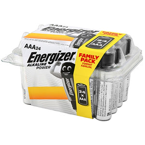 Energizer AAA Battery Value Pack 24 Alkaline Power ENR414677