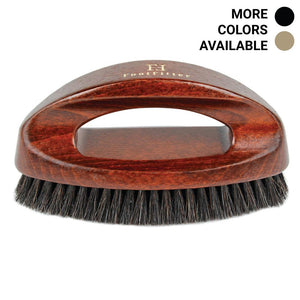 FootFitter Executive Shoe Shine Brush with Handle FootFitter