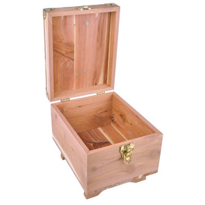 FootFitter Grand Cedar Shoe Shine Valet Box FootFitter