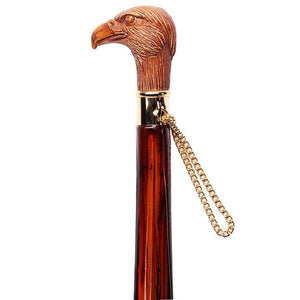 "FootFitter Medium 21"" Spoon Shoe Horn, Brown Wooden Eagle FootFitter"