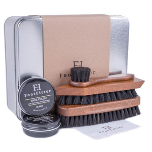 FootFitter Military Shoe Shine Kit FootFitter