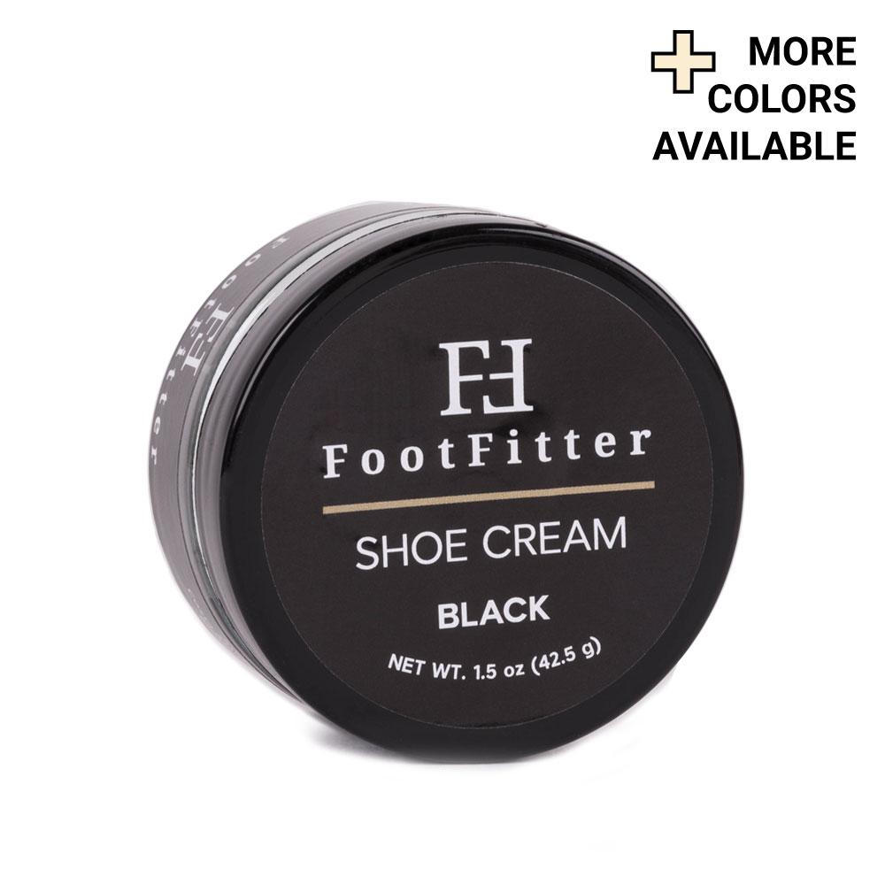 FootFitter Premium Shoe Cream Polish, 1.5 oz. FootFitter