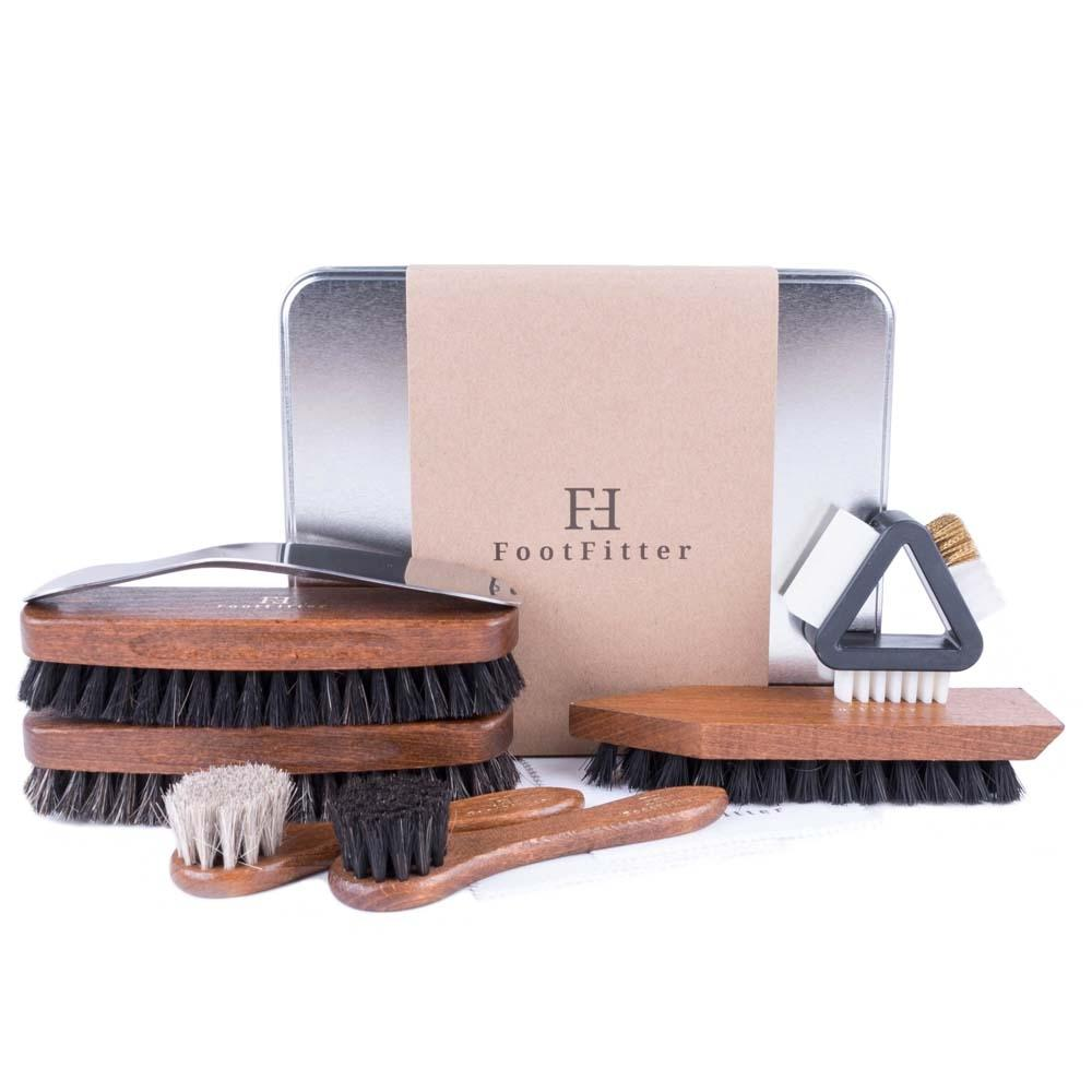 FootFitter Professional Shoe Brush Set FootFitter