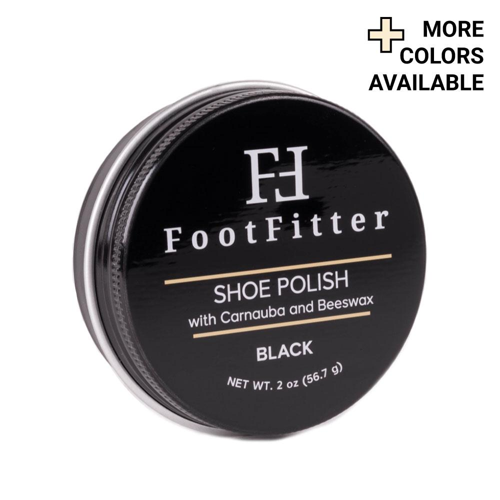 FootFitter Shoe Polish with Carnauba and Beeswax FootFitter