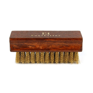 FootFitter Suede-Nubuck Brass Shoe Cleaning Brush FootFitter
