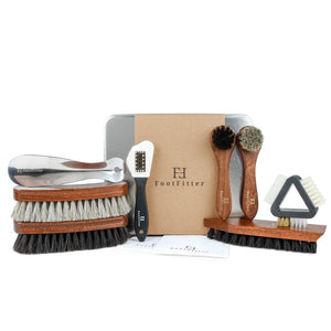 FootFitter Ultimate Shoe Brush Set FootFitter