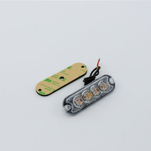 Amber LED Strobe Light