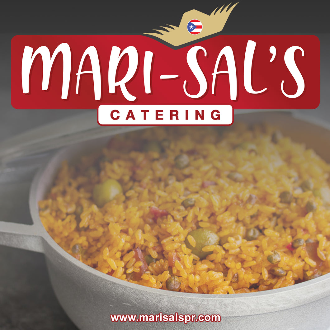 Mari-Sal's Arroz Con Gandules for Catering
