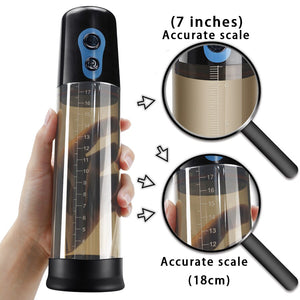 Automatic Penis Enlargement exercise tools Vibrator for Men Electric Penis Extend Vacuum Train Pump Male Masturbator Sex Toy