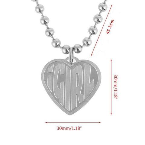 Collier Coeur I Girl