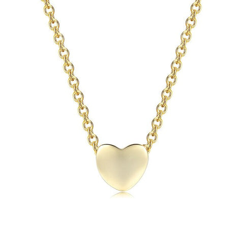 collier coeur simple