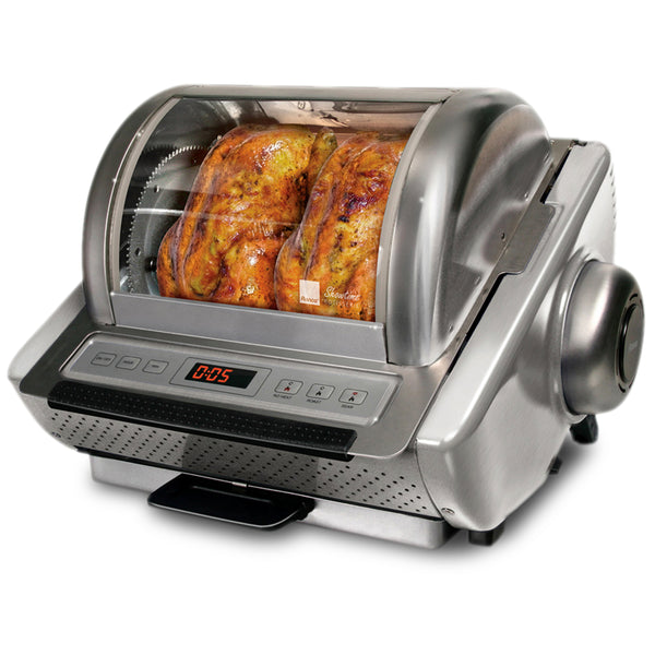 Ronco Showtime EZ-Store Rotisserie, Stainless Steel