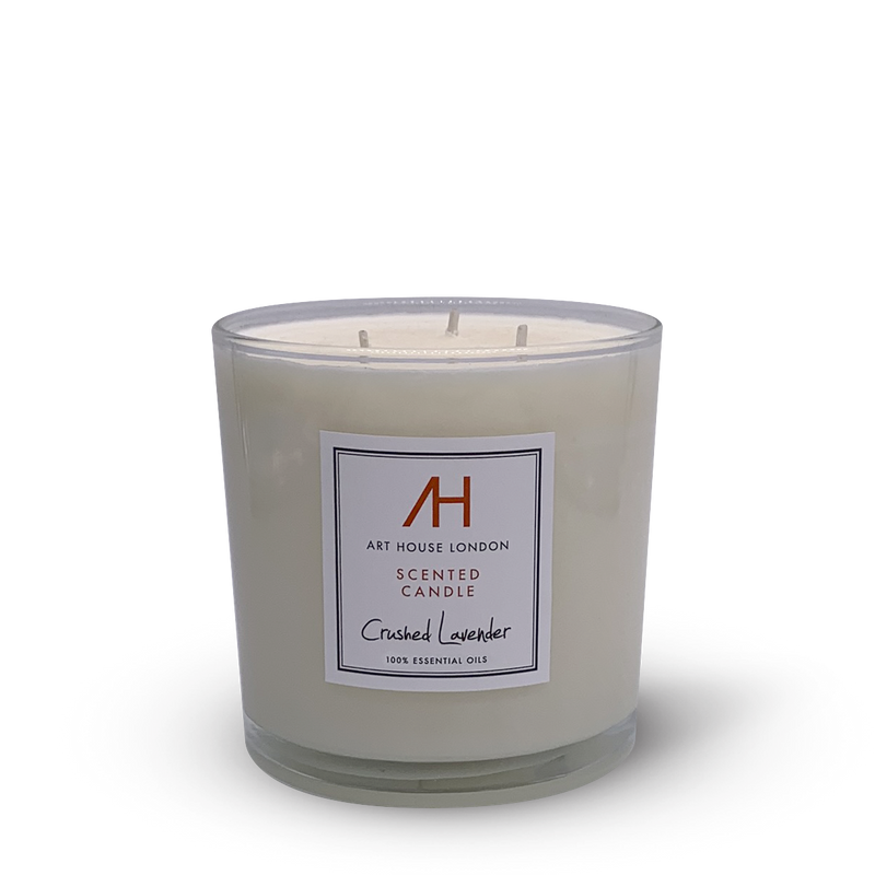 Crushed Lavender Candle 3-Wick