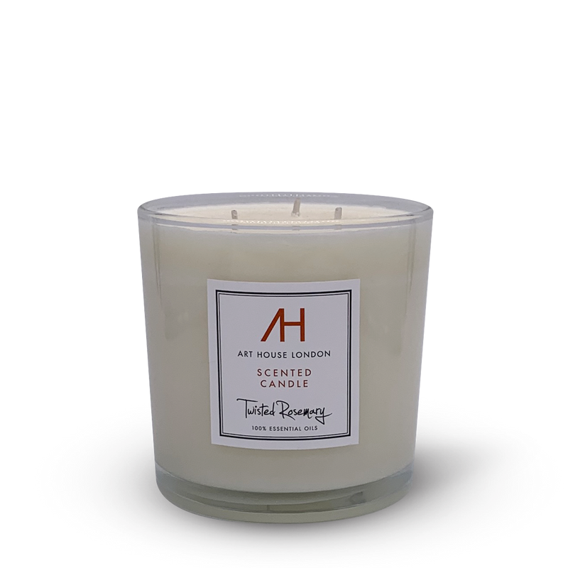 Twisted Rosemary Candle 3-Wick