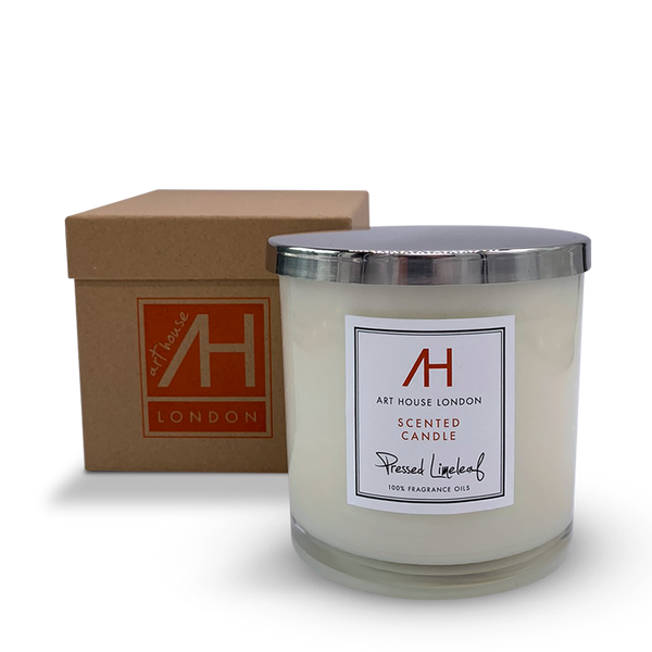 Pressed Limeleaf Candle 3-Wick