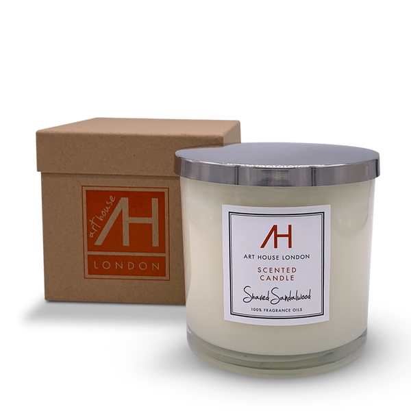 Shaved Sandalwood Candle 3-Wick