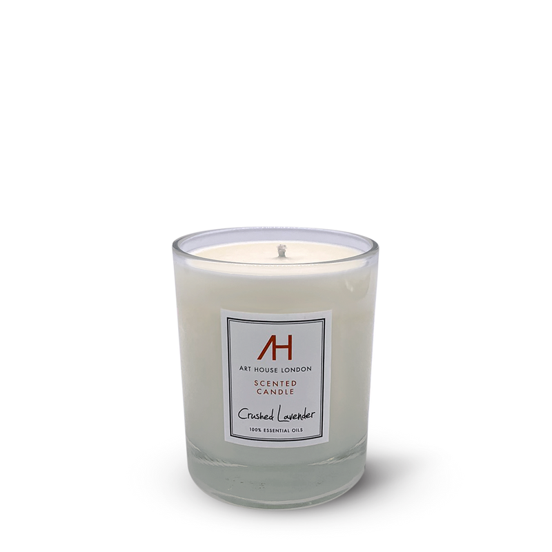 Crushed Lavender Candle Classic