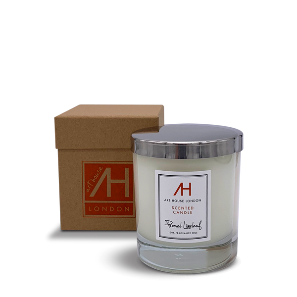 Pressed Limeleaf Candle Classic