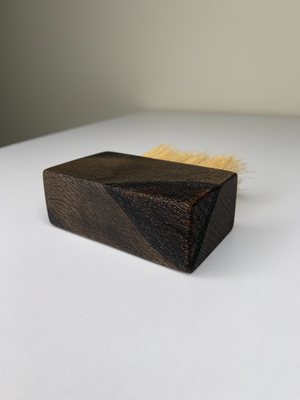 Mini Ebonized Bench Brush