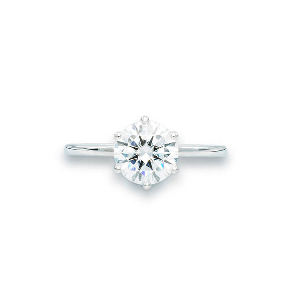 Belle - Moissanite