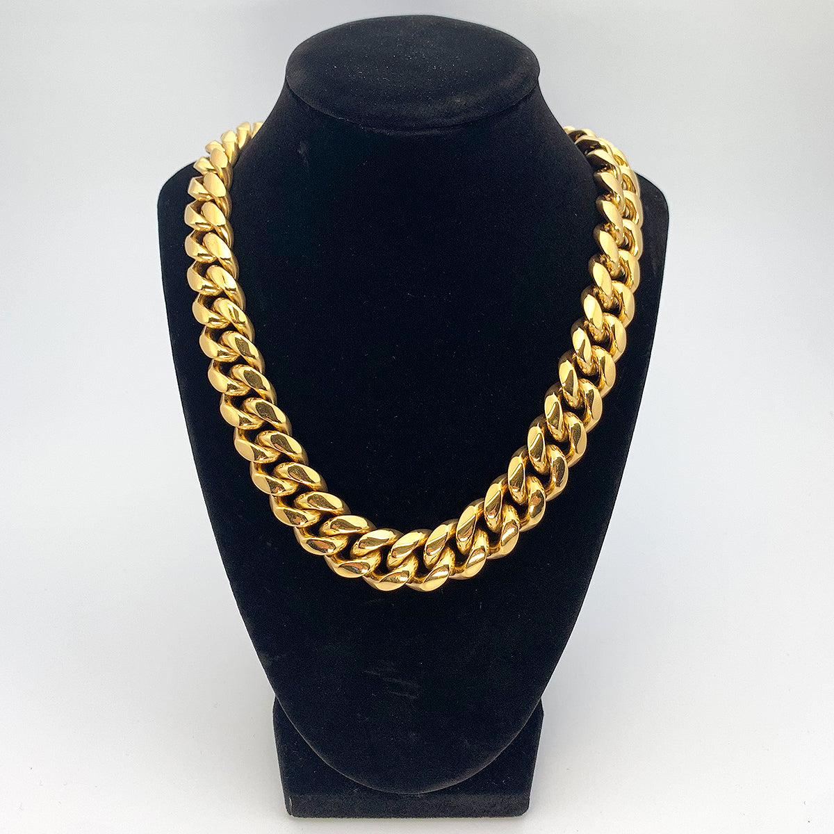 Miami Cuban Link Chain - Gold