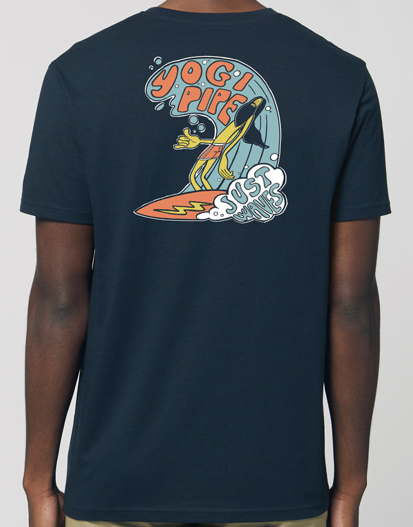 """The Shaka"" by Yogi Pipe T-shirt"