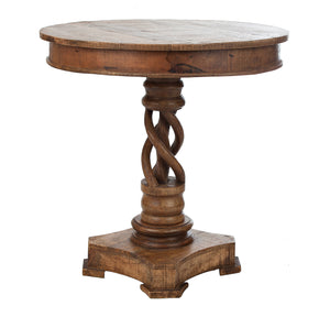Twisted Accent Table  simple lucky-furniture-handicrafts.