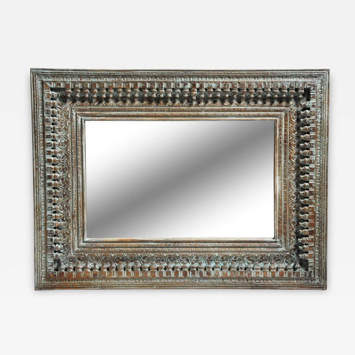Carved Lattoo Mirror Frame  simple lucky-furniture-handicrafts