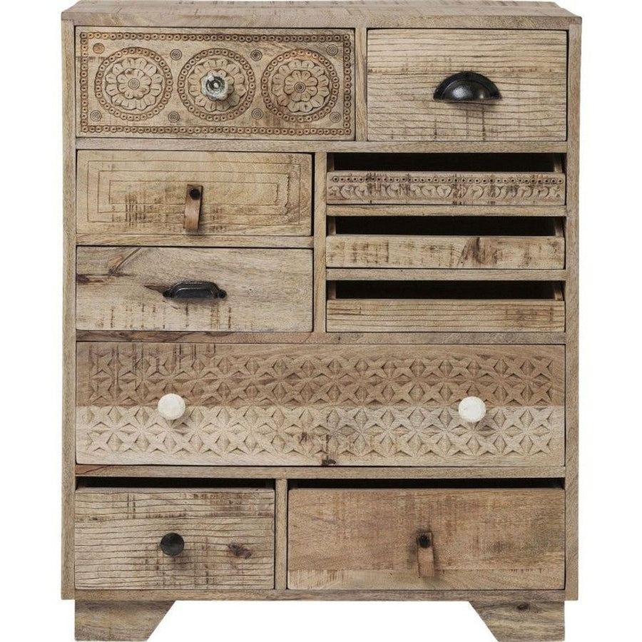Tribal Design Chest of Drawers  simple lucky-furniture-handicrafts.