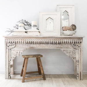 Wooden Carved Console  simple lucky-furniture-handicrafts.