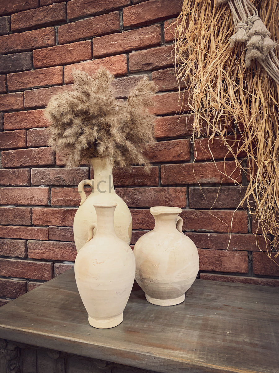 Earthen Pots Table Top   lucky-furniture-handicrafts.