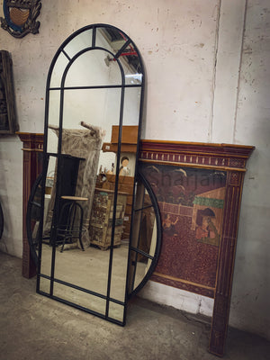 Arch Sectional Iron Mirror Frame   lucky-furniture-handicrafts.