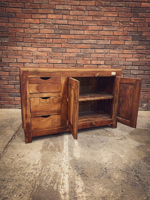 Minimalist Wooden Sideboard   lucky-furniture-handicrafts.