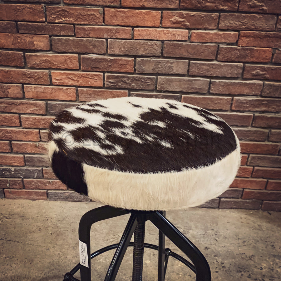 Black and white Leather Barstool   lucky-furniture-handicrafts.