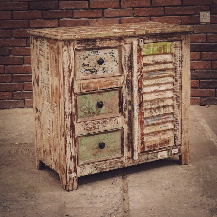 Recycle Design XL Sidetable   lucky-furniture-handicrafts.