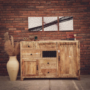 Fusion sideboard mango wood   lucky-furniture-handicrafts.