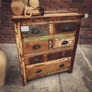 Recycle 6 drawer drawchest