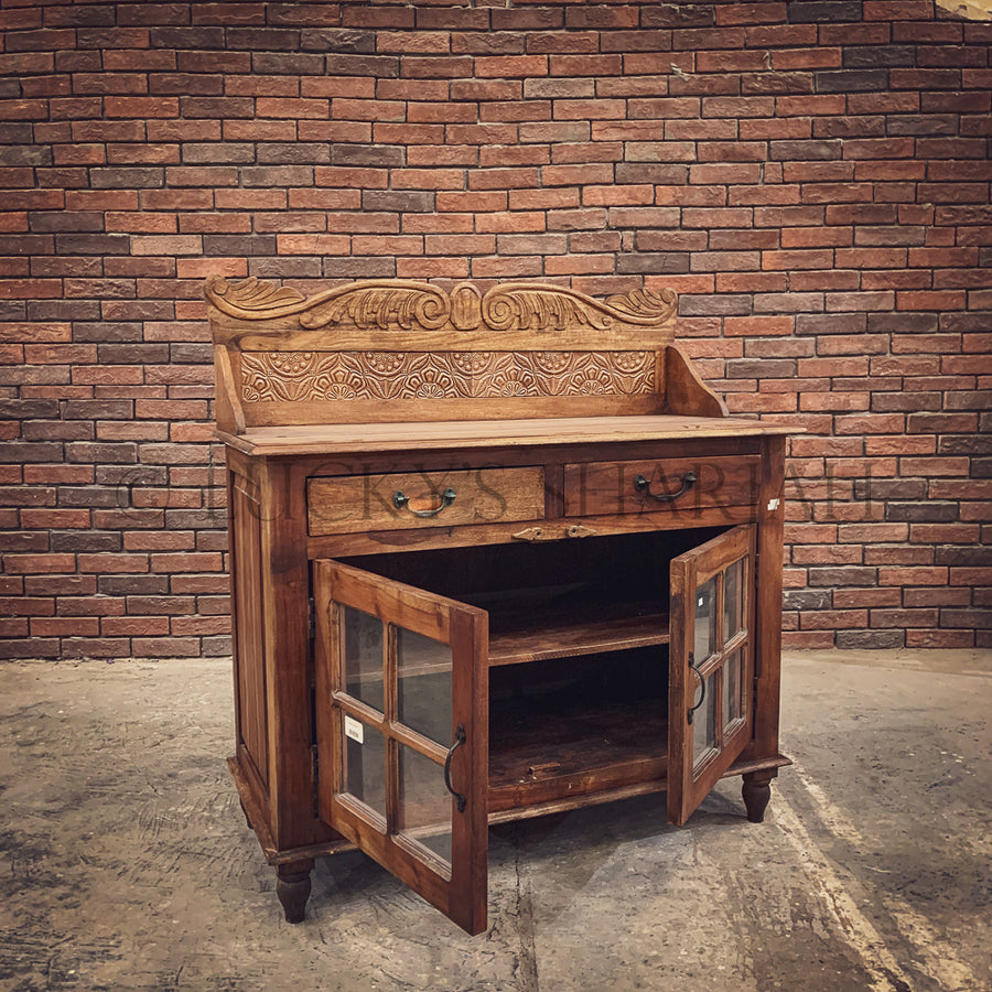 Classic 80's tiled sideboard   lucky-furniture-handicrafts.