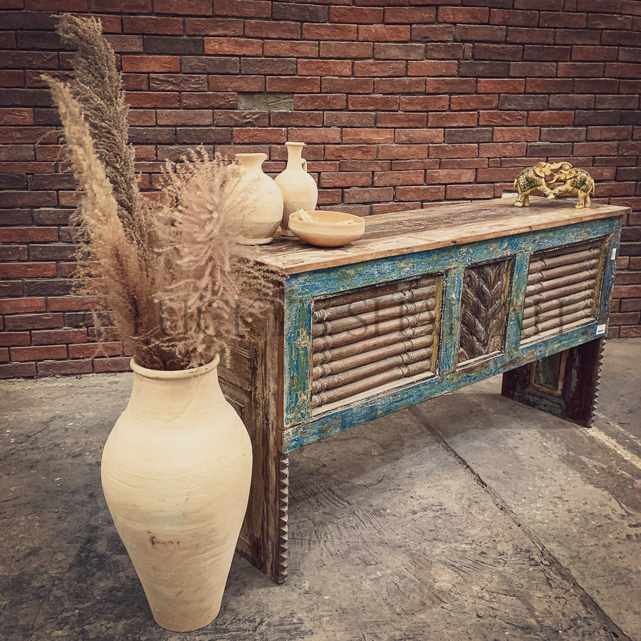 Recycle design console table
