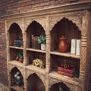 Sectional Carved bookshelf   lucky-furniture-handicrafts