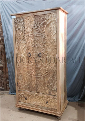 Carved Wardrobe   lucky-furniture-handicrafts.