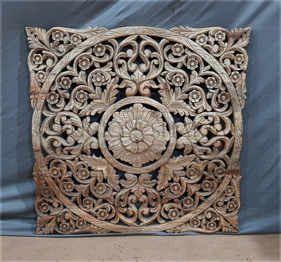 Carved Panel Square   lucky-furniture-handicrafts.