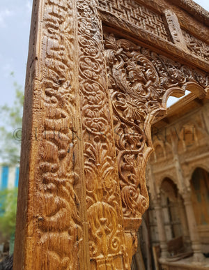 Huge Mehrab frame antique   lucky-furniture-handicrafts.