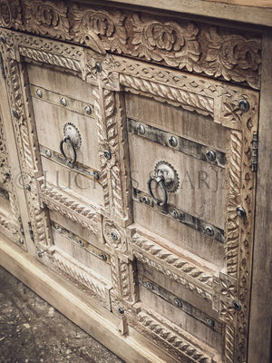Gujarati door carved sideboard   lucky-furniture-handicrafts.