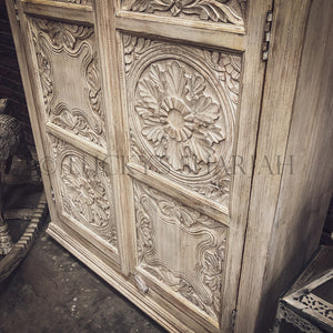 Mixed Carved Panel cabinet   lucky-furniture-handicrafts.