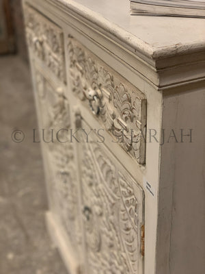 Love Collection Carved sideboard 2 draw 2 door   lucky-furniture-handicrafts