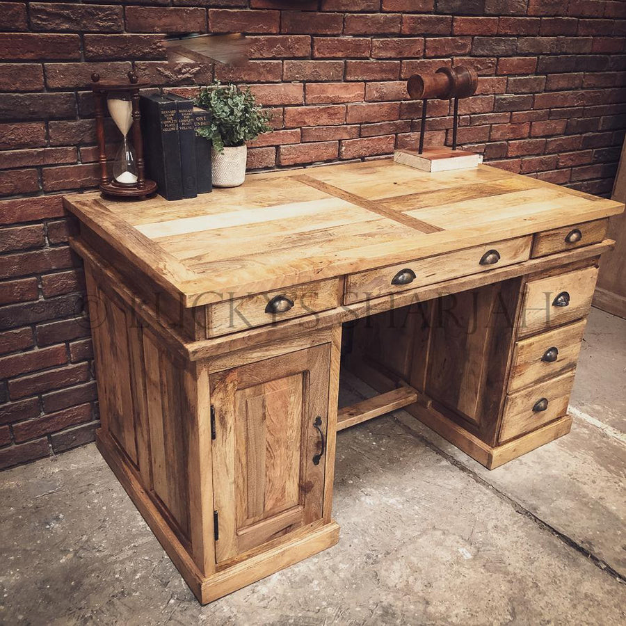 Classic Executive Desk   lucky-furniture-handicrafts.