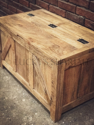 Mango wood sectional box trunk   lucky-furniture-handicrafts.